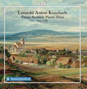 Kozeluch: Three Scottish Piano Trios Product Image