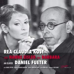 Rea Claudia Kost sings Hanns Eisler and Barbara Product Image