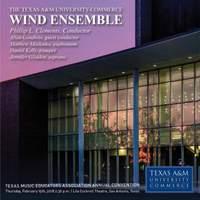 2018 Texas Music Educators Association (TMEA): Texas A&M University-Commerce Wind Ensemble [Live]