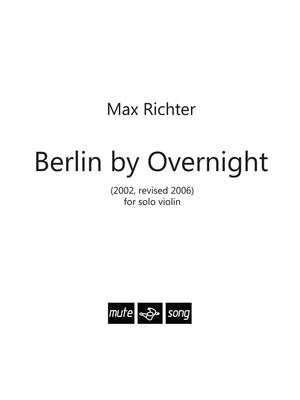 Max Richter: Berlin By Overnight Product Image