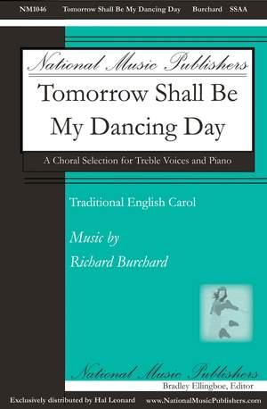 Richard Burchard: Tomorrow Shall Be My Dancing Day Product Image