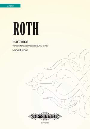 Roth, Alec: Earthrise (vocal score)