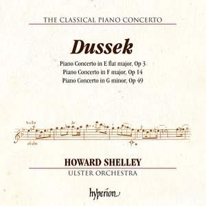 J L Dussek: Piano Concertos Opp 3, 14 & 49 Product Image