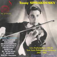 Tossy Spivakovsky Live 1943-62