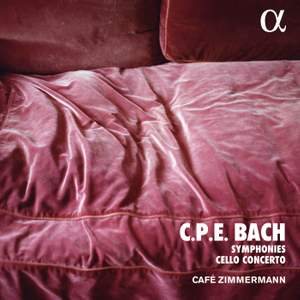 CPE Bach: Symphonies And Cello Concerto Product Image