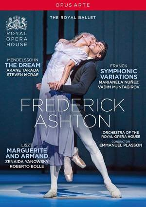 Frederick Ashton: The Dream; Symphonic Variations; Marguerite and Armand Product Image
