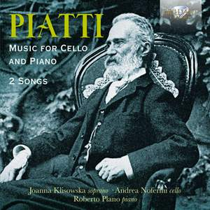 Piatti: Music For Cello And Piano & 2 Songs Product Image