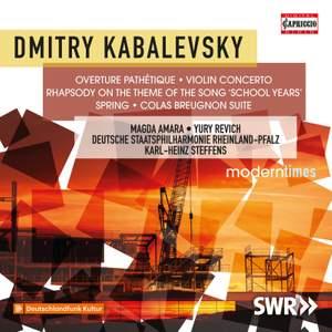 Kabalevsky: Orchestral Works