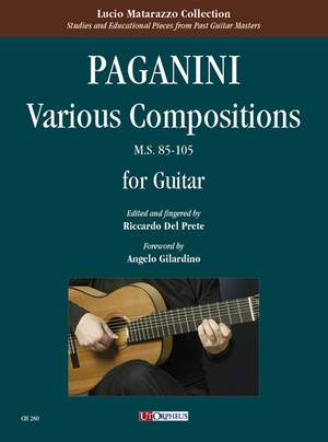 Paganini, N: Various Compositions  MS85-105