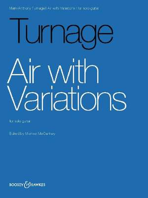 Turnage, M: Air with Variations