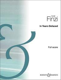 Finzi, G: In Years Defaced
