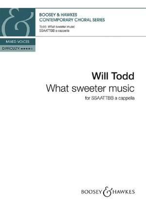 Todd, W: What sweeter music