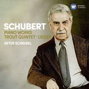 Schubert: Piano Works, Trout Quintet, 7 Lieder Product Image