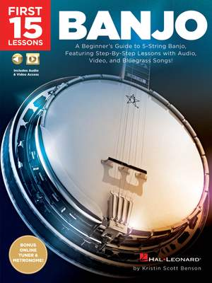 Kristin Scott Benson: First 15 Lessons - Banjo