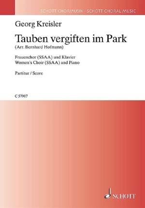 Kreisler, G: Tauben vergiften im Park