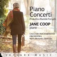 Prokofiev, Bartók & Forsyth: Piano Concerti