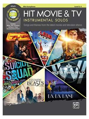 Various: Hit Movie & TV Inst Solo AX/CD