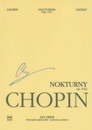 Frédéric Chopin: Nocturnes, Op. 9,15,27,32,37,48,55,62