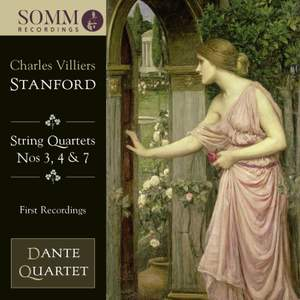 Stanford: String Quartets 3, 4 & 7 Product Image