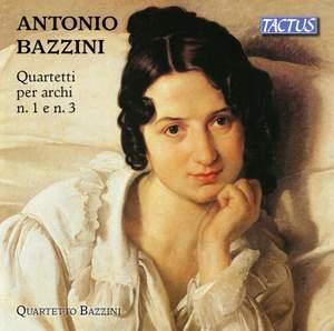 Bazzini: String Quartets Nos. 1 & 3 Product Image