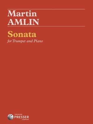Martin Amlin: Sonata for Trumpet and Piano