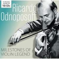Ricardo Odnoposoff - Milestones Of Legends