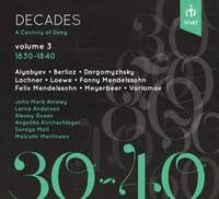 Decades: A Century of Song Vol. 3 1830 - 1840