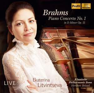 Brahms: Piano Concerto No. 1 in D Minor, Op. 15 (Live) Product Image