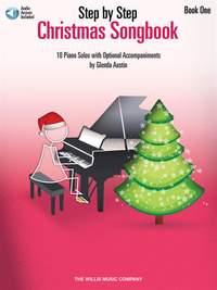 Glenda Austin: Step by Step Christmas Songbook - Book 1
