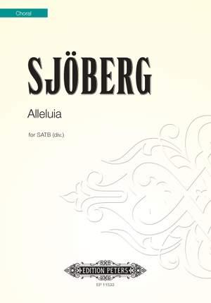 Sjoberg, Mattias: Alleluia (SATB)