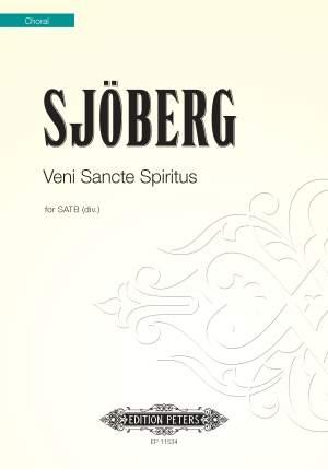 Sjoberg, Mattias: Veni Sancte Spiritus (SATB)