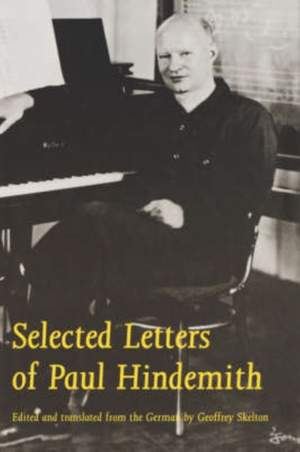 Selected Letters of Paul Hindemith
