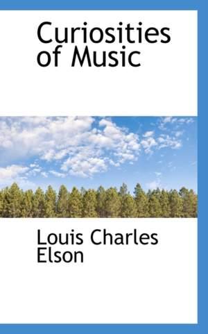 Curiosities of Music