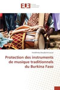 Protection Des Instruments de Musique Traditionnels Du Burkina Faso