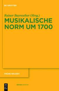 Musikalische Norm um 1700