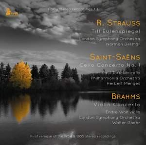 Paul Tortelier - Early Stereo Recordings - R. Strauss, Saint-Saëns & Brahms