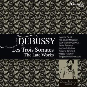 Debussy: Les Trois Sonates, The Late Works Product Image