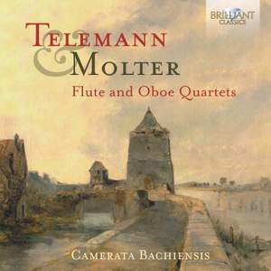 Telemann and Molter: Flute and Oboe Quartets