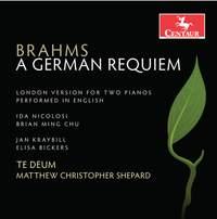 Brahms: A German Requiem, Op. 45 (London Version) [Sung in English]