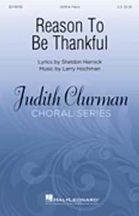 Larry Hochman_Sheldon Harnick: Reason to Be Thankful