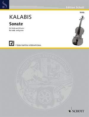 Kalabis, V: Sonate op. 84