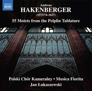 Andreas Hakenberger: 55 Motets From The Pelplin Tablature Product Image