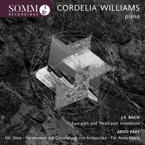 Bach/Pärt: Cordelia Williams