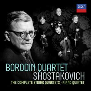 Shostakovich: Complete String Quartets & Piano Quintet Product Image