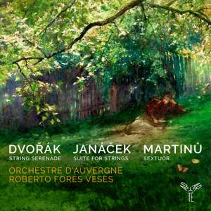 Dvořák, Janáček & Martinů: works for strings