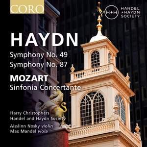 Haydn: Symphonies Nos. 49 & 87