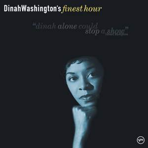 Dinah Washington's Finest Hour