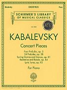 Dmitri Kabalevsky: Concert Pieces