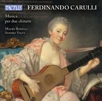 Ferdinando Carulli: Music for two guitars