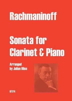 Sergei Rachmaninov: Sonata for Clarinet & Piano